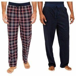 Nautica Men's Sueded Fleece Pajama Pants 2 Pack